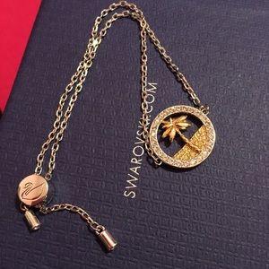 Swarovski palm tree bracelet